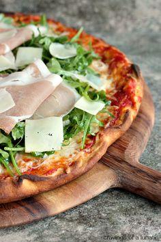 Italian Food ~ #food #Italian #italianfood #ricette #recipes ~ Prosciutto and Arugula Pizza