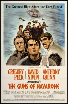 VISIT GREECE| The Guns of Navarone, partly shot on #Rhodes, #Dodecanese #Greece