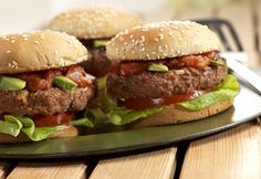 Campbell's Kitchen: Spicy Onion Burgers
