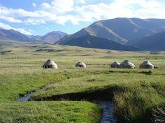 Kyrgyzstan, near Issyk-Kul