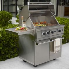 Gas grills on pinterest big green eggs outdoor kitchens for Viking professional outdoor grill