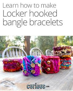 How to Locker Hook Bangle Bracelets