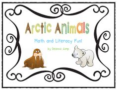 Arctic Animals, books and activities anim unit, animals, arctic anim, winter, polar bears, anchor charts, nonfiction books, jump class, first grade