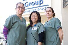 UCLA Health Manhattan Beach Family & Internal Medicine back office staff.