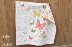 How to Free Motion Quilt - Stipple Pattern Video