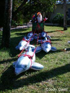 Santa's Sanibel Island Sleigh