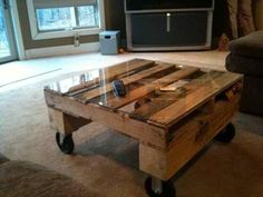 cool coffee table,recycle and diy