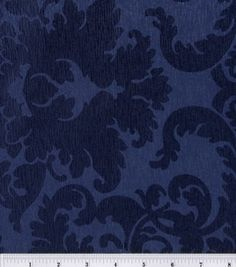 love this navy hued fabric, little feminine meets a little practical! pattern