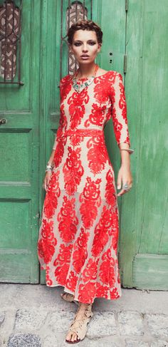 Front view of the San Marcos Dress.....  By For Love and Lemons.