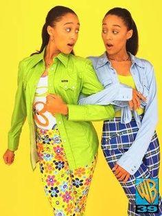 Tia and Tamera Mowry Flashback! :) sister sister !