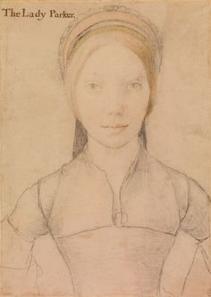 Grace, Lady Parker (1515- by 1549), Hans Holbein the Younger, c. 1540-43 | Royal Collection Trust