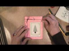 Christmas Tree Gift Box Card