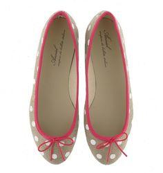 pink lining + white polka dots | anniel moda