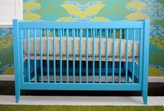 Devon Crib by @Stacey McKenzie Craven Cottages in Bahama Blue