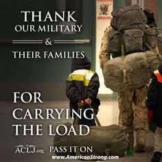 Pray for the Military Families! Everyday!
