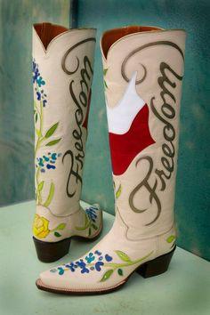 Rocketbuster custom boots