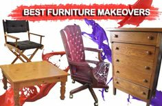 A list of the Top 20 of the Best Furniture Makeovers and get inspiration for your projects!