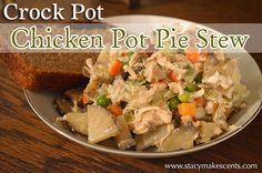 Crock Pot Chicken Pot Pie Stew - Stacy Makes Cents
