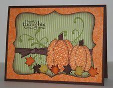 handmade fall cards, thanksgiv card, halloween cards, fall handmade cards, bing imag