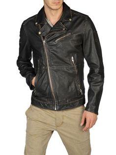 leather jacket Diesel