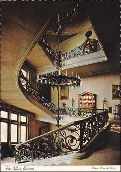 Main Staircase, Biltmore House and Garden, Asheville, North Carolina