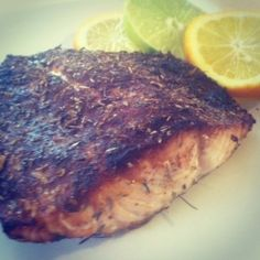 Heart-healthy Blackened Salmon