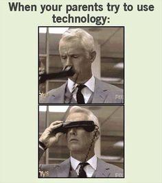 Parents Vs Technology :)