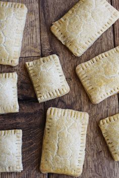 Pop tarts - two ways - whole wheat or gluten free