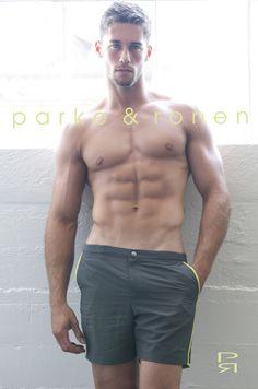 Parke & Ronen swimwear - shorts, trunks, and swim briefs