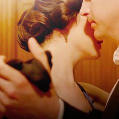 Lady Mary Crawley (Michelle Dockery) and Matthew Crawley (Dan Stevens) from Downton Abbey