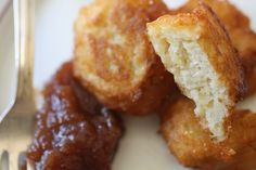 Fluffy potato pancakes