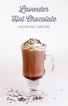 Lavender Hot Chocolate Drink Recipe