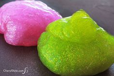 How to make flubber at home for an awesome kids' craft | CherylStyle.com