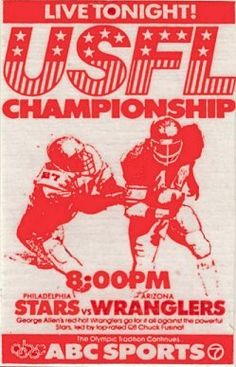 Promo for 1984 USFL Championship game