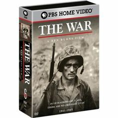 World War II Documentary by Ken Burns...AWESOME  I was born after WWII ended but I love Ken Burns' documentaries and most of us remember VHS tapes.