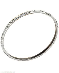 Willow bangle...love it!  Wear five every day, stacked with other bangles.