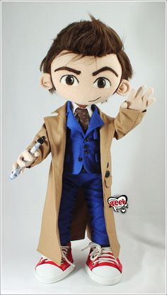 Poseable Tenth Doctor Plush Art Doll - TOYS, DOLLS AND PLAYTHINGS