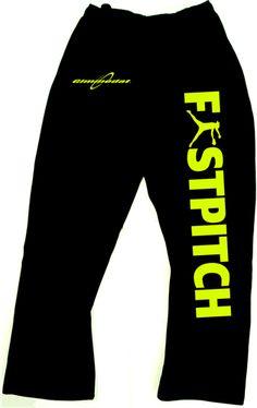 Gimmedat Softball Sweatpants(: pocket, open bottom sweatpants, fastpitch sweatpant, softball sweatpants, blackneon pink, softball clothing, blackneon yellow, gimmedat softbal, gimmedat fastpitch
