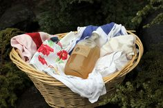 Easy natural herbal laundry soap.