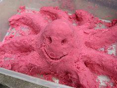 Du sable magique ...