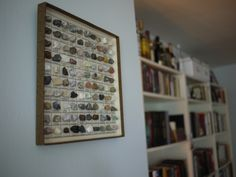 Rock collection display: loving this!