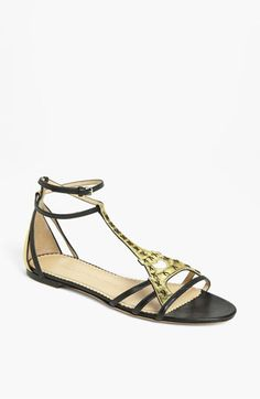 Charlotte Olympia 'Parisienne' Sandal Gold