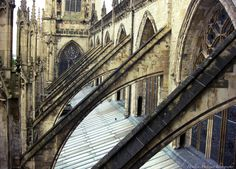 Cathedral buttresses