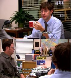 laugh, offices, the office, funni, humor, movi, quot, thing, dwight