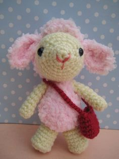 Pinky lamb amigurumi-free pattern