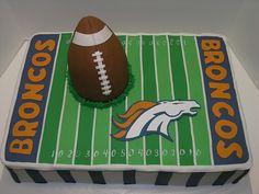 Denver Broncos Cake | Just Cool Cakes