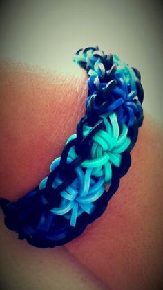 Starburst Rainbow Loom Bracelet