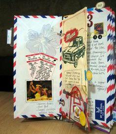 Envelope journal ~ Michelle Ramirez