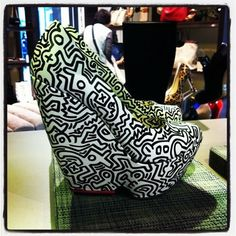 Kirkwood - Keith Herring inspired heels