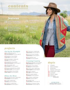 I think I need to buy this magazine.  Like the scarf/shawl pattern.  A LOT!